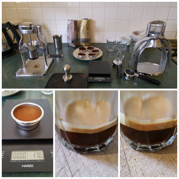 Rok espresso maker and ROK grinder versus bad beans